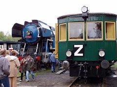 Železniční muzeum Lužná