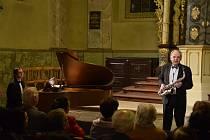 Jiří Hlaváč a Daniel Weisner koncertovali v Heroldově síni v Rakovníku.