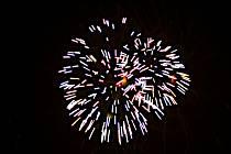 Novoroční ohňostroj v Rakovníku 2014