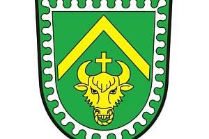 Znak obce Nový Dům.
