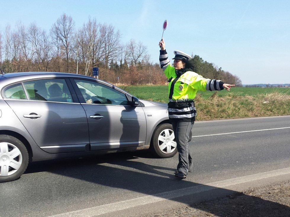 Kontroly na silnicích Rakovnicka