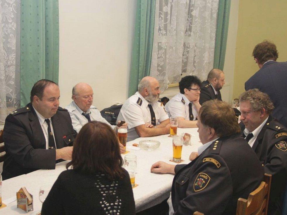 Výroční schůze SDH Nesuchyně