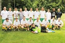 Fotbalový mač v Kroučové