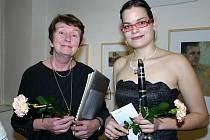 Jana Lahodná a Irena Černá