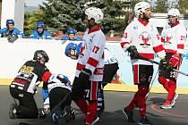 Hokejbalisté HBC Rakovník prohráli doma s Letohradem