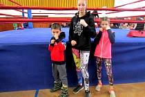 Mladí rakovničtí boxeři