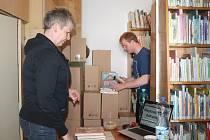 Revize knižního fondu v Městské knihovně v Rakovníku