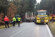 Při pondělní dopravní nehodě u Rudy zemřel  čtyřiadvacetiletý řidič. Zdroj: Policie ČR