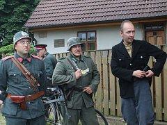 Rekonstrukce zatčení Jaroslava Fraňka gestapem a otevření jeho pamětní síně