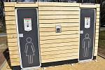 Nové veřejné toalety u autobusového nádraží v Rakovníku.