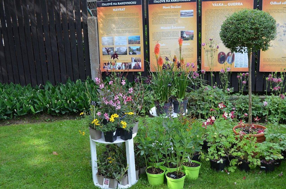 Prodejní výstava Zahrada Duše Umění v Rudě.
