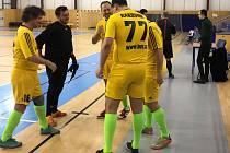 Debakl. Futsalisté Atlanticu Rakovník schytali v Přelouči ostudný nářez.