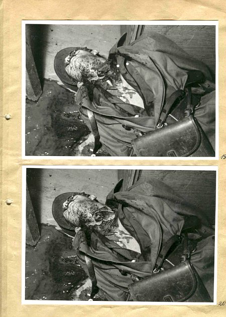 Brutálně zavražděný strážmistr Honzátko