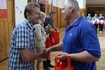 Sokolové v Rakovníku se připojili do projektu Česko sportuje. Přijel i držitel dvou zlatých olympijských medailí Martin Doktor a i ministr školství Marcel Chládek
