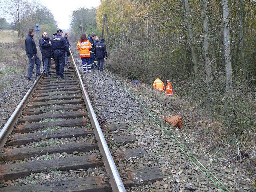 Ženu srazil mezi Novým Strašecím a Stochovem vlak
