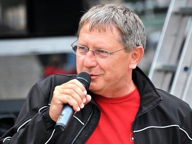 Starosta Zdeněk Nejdl při slavnostním zahájení