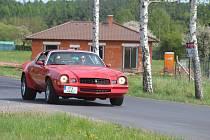 Stará auta vyjela z Lužné do Rakovníka.