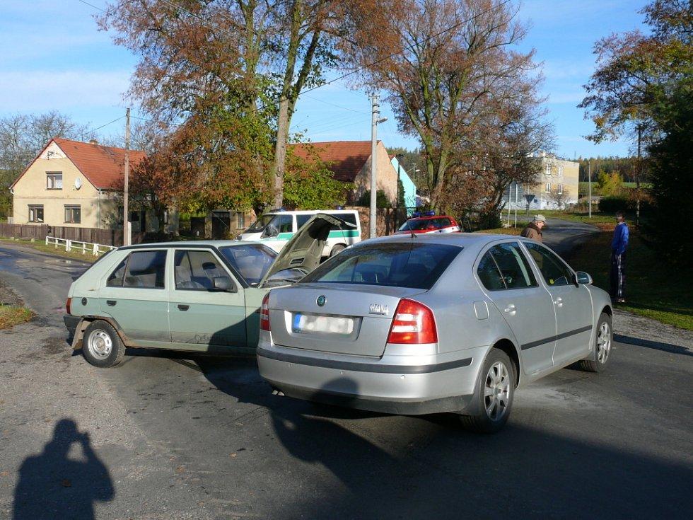 Nehoda ve Hvozdě