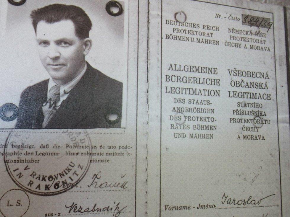 Vzpomínka na Jaroslava Fraňka.