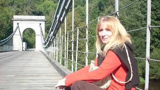 Spisovatelka Monika Pokorná