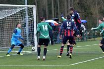 Z fotbalového divizního utkání Tatran Rakovník - Souš (0:2)