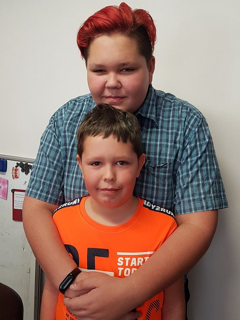 Dvanáctiletý Vojtěch a mladší bratr Filip získali ocenění Mladý hrdina.