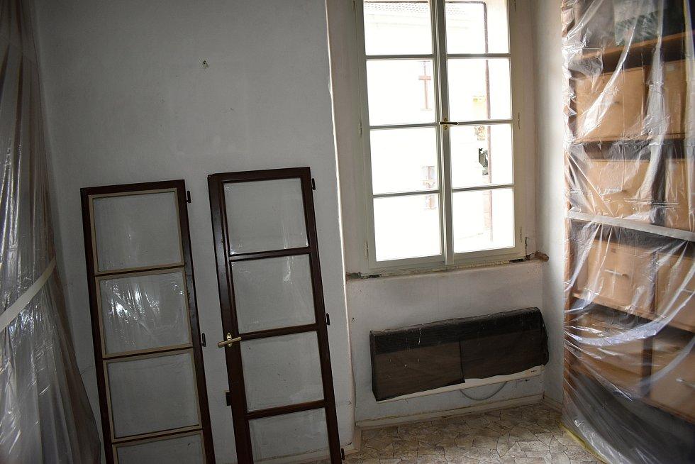 Historický objekt rakovnického muzea - Galerie Samson Cafeé - prochází rekonstrukcí.