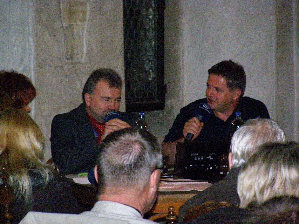 Foto z akce na hradě Křivoklát