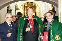 Rudolf Pánek z Rakovníka byl pasován na rytíře vína