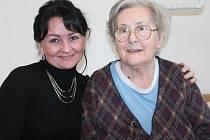 Markéta Grundmannová (vlevo) a Staša Valentová