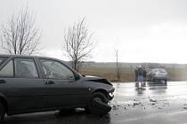 Dnes ráno došlo k dopravní nehodě u Nového Strašecí.