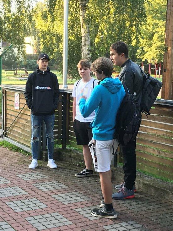 Nový školní rok byl zahájen také na Masarykově obchodní akademii v Rakovníku.