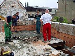Výstavba hasičárny