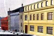 Vizualizace zrekonstruované budovy.