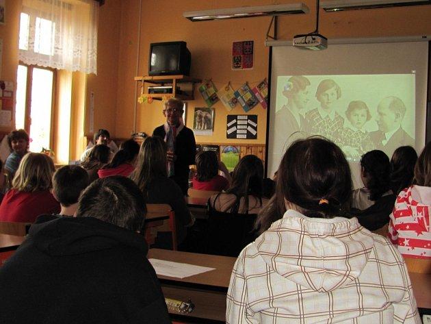 Projekt Holokaust v mšecké škole