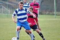 Daniel Devera (vpředu) hraje v Zavidově od založení klubu