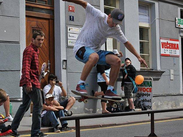 Rakovnické cyklování: Skateboarding