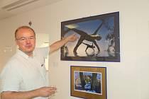 Derniéra výstav S.V.U. Mánes v rakovnické galerii.