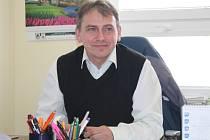 Ředitel novostrašeckého gymnázia Richard Spiegl