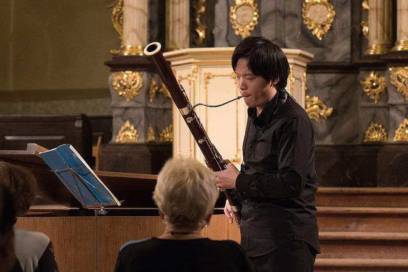 Další koncert Heroldova Rakovníka. Tentokrát vystoupili dva japonští umělci - Yuika Matsudo a Tetsuro Yamada společně s Danielem Wiesnerem.