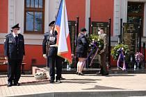 Pietní akce u Památníku obětí válek v Čisté.