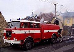 Požár v Křivoklátě.