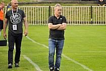 Miroslav Procházka (vpravo) ještě na lavičce SK Rakovník