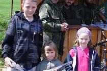 Dětský den a rybářské závody v Hořesedlích