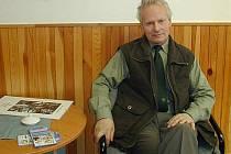 Lesník a spisovatel Miroslav Pecha