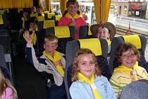 Kounovští žáci na školním výletě