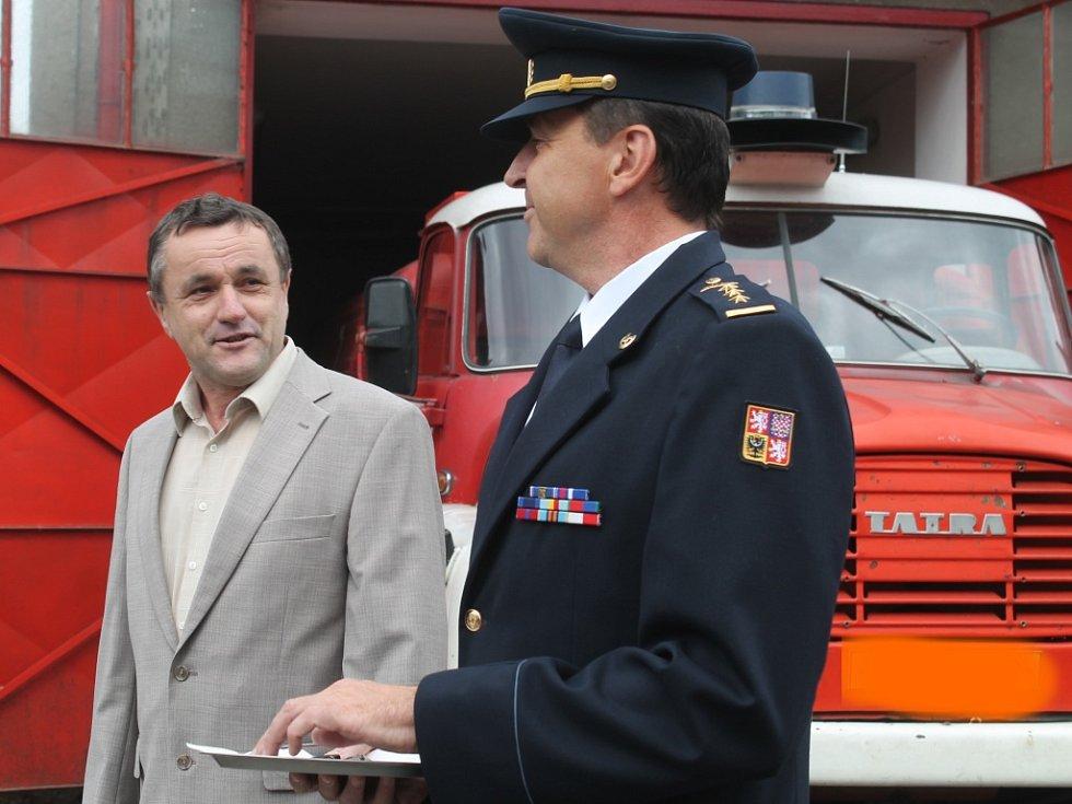 SDH Řevničov dostal nové auto