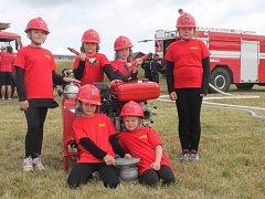 Družstvo mladých hasiček Velká Chmelištná
