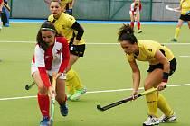 Rakovnické pozemní hokejistky remizovaly v posledním kole extraligy s pražskou Slavií 2:2 a do semifinále play off postupují z druhé příčky.