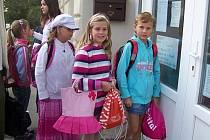 První školní den na Základní škole v Novém Strašecí